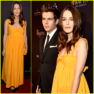 Pregnant Keira Knightley Shows Off Baby Bump on Red Carpet!