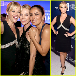 Reese Witherspoon Has a 'Wild' Time at Help Haiti Home Gala