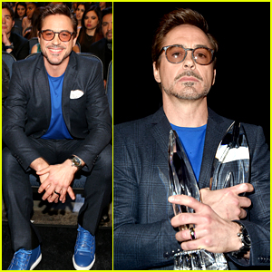 Robert Downey Jr Wins Twice at People's Choice Awards 2015!