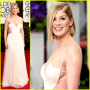 Gone Girl's Rosamund Pike Is Glowing at Golden Globes 2015!