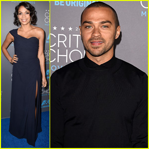 Rosario Dawson & Jesse Williams Step Out in Style for Critics' Choice Awards 2015