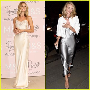 Rosie Huntington-Whiteley Stuns at 'Rosie for Autograph' Fragrance Launch in London!