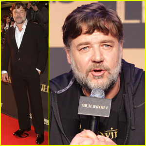 Russell Crowe Signs On For a Movie If the Script Gives Him Goose Bumps