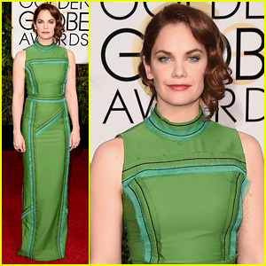 The Affair's Ruth Wilson Goes Green for Golden Globes 2015