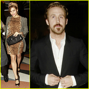 Ryan Gosling & Eva Mendes Enjoy Rare Night Out Together