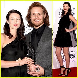 Outlander's Sam Heughan & Caitriona Balfe Win at People's Choice Awards 2015!