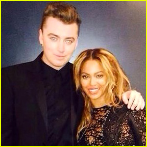 Sam Smith's Boyfriend Jonathan Zeizel Catches Him Singing Beyonce's 'Drunk in Love' in the Shower (Video)