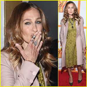 Sarah Jessica Parker Gets Flirty at 'It's Only a Play'