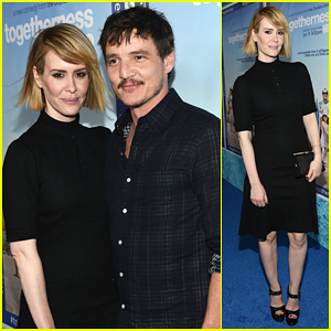 Sarah Paulson & Pedro Pascal Live It Up with 'Togetherness' Cast at Hollywood Premiere!