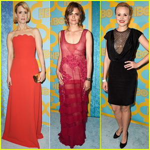 Sarah Paulson & Stana Katic Put On Their Best for HBO's Golden Globes After Party 2015