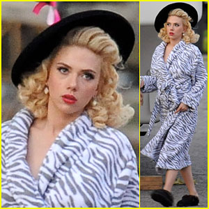 Scarlett Johansson is a Retro Beauty for 'Hail, Caesar!'