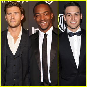 Scott Eastwood, Anthony Mackie, & More Dapper Fellas Suit Up for InStyle's Golden Globes After Party 2015!
