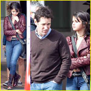 Selena Gomez Shows Her Edgy Side on 'The Revised Fundamentals of Caregiving' Set