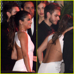 Selena Gomez & DJ Zedd Hold Hands at a Golden Globes 2015 After Party!