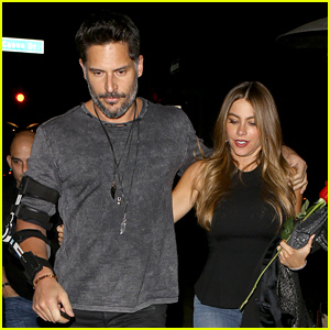 Sofia Vergara & Joe Manganiello Wrap Their Arms Around Each Other After Their Date Night