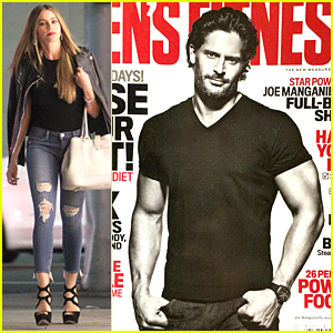 Sofia Vergara's Fiance Joe Manganiello Flaunts Muscles on 'Men's Fitness' Cover