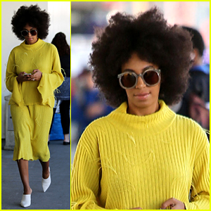 Solange Knowles Is Having Trouble With Her Fro & Oil Stains