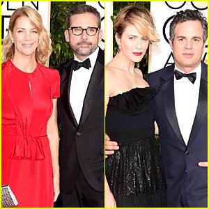 Foxcatcher's Steve Carell & Mark Ruffalo Are Dapper at Golden Globes 2015