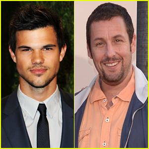 Taylor Lautner & Adam Sandler Reuniting For 'Ridiculous 6' Netflix Movie!