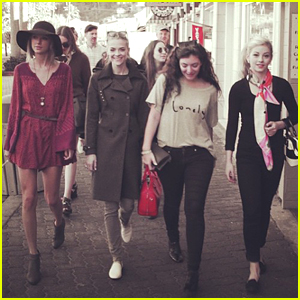 Taylor Swift Goes 'Wandering' With Jaime King & Lorde