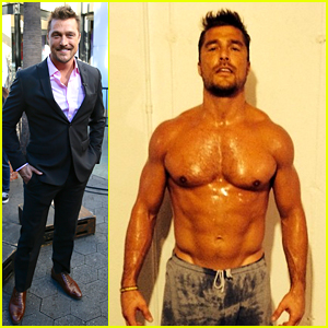 The Bachelor's Chris Soules Is Shirtless & Sweaty in Hot Photo!
