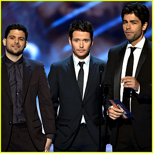 The 'Entourage' Guys Get Us Excited for Their Movie at PCAs