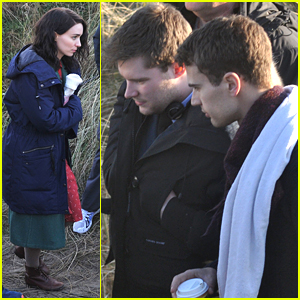Jack Reynor & Theo James Get To Work on 'The Secret Scripture' in Dublin