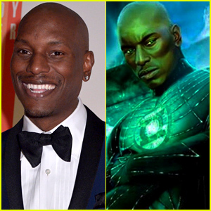 Tyrese Gibson REALLY wants to be Green Lantern