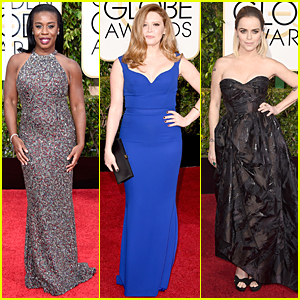 Uzo Aduba & Natasha Lyonne Bring 'Orange is the New Black' Presence to Golden Globes 2015 Red Carpet