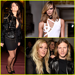 So Many Celebs Hit Up the Versace Fashion Show in Paris!
