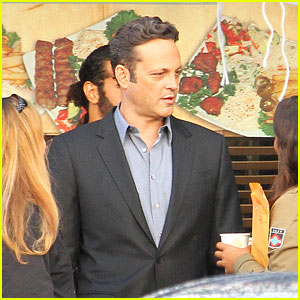 Vince Vaughn is Hard at Work for the Second Season of 'True Detective'