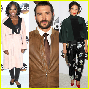 Viola Davis & 'Murder' Cast Hit the TCA Winter Press Tour with 'Scandal' & 'Grey's Anatomy' Stars!