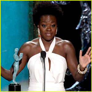 Viola Davis Gives an Emotional Acceptance Speech at SAG Awards 2015 (Video)