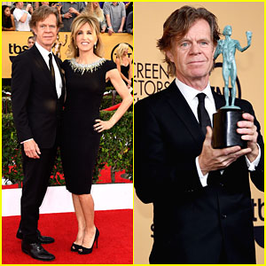 William H Macy & Felicity Huffman Celebrate His Big Win at SAG Awards 2015