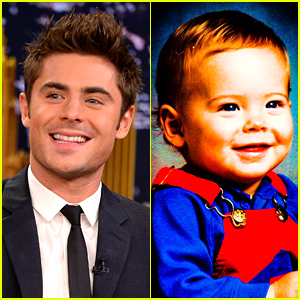 Zac Efron's Baby Photo Is the Ultimate Throwback Picture