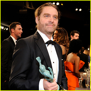 Zach Galifianakis Looked Unrecognizable at the SAG Awards