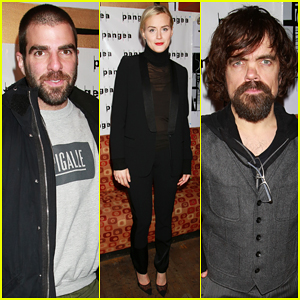 Zachary Quinto Supports Taylor Schilling & Peter Dinklage at 'A Month In the Country' Opening Night Party!