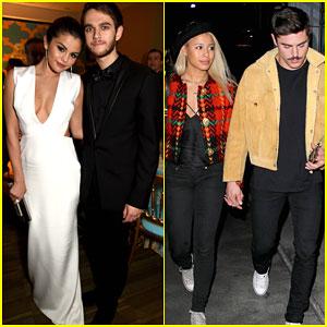 Selena Gomez & Zedd Double Date With Zac Efron & Sami Miro
