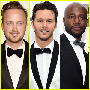 Aaron Paul, Ryan Kwanten, & Taye Diggs Bring the Handsome Factor to Oscars 2015 Party