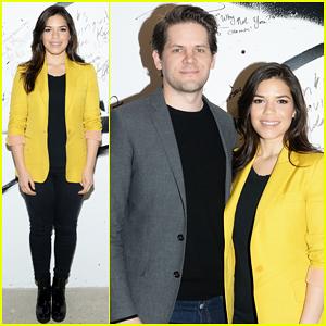 America Ferrera & Hubby Ryan Piers Williams Talk 'X/Y' with AOL Build Following Oscars Weekend!