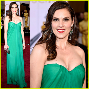 American Sniper's Taya Kyle Walks Oscars 2015 Red Carpet