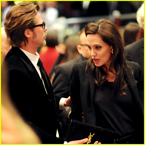 Angelina Jolie & Brad Pitt Support 'Unbroken' at ASC Awards