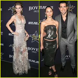 AnnaLynne McCord & Jesse Metcalfe Play For Charity At Hollywood Domino Gala 2015