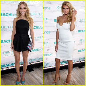 AnnaSophia Robb & Charlotte McKinney Are Blonde Beauties at John Frieda Beach Party