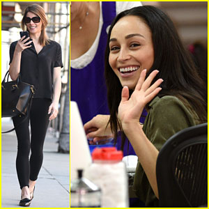 Ashley Greene & Cara Santana Treat Themselves to a Day of Pampering