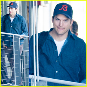 Ashton Kutcher Steps Out for Business After Celebrating 37th Birthday!