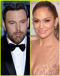Ben Affleck & Jennifer Lopez Have Playful Run-In at Oscars 2015