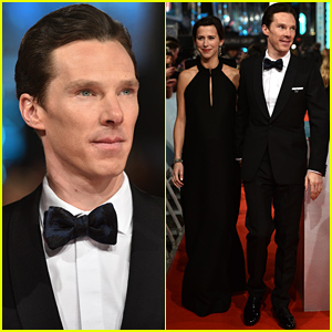 Benedict Cumberbatch Brings His Pregnant Fiancee Sophie Hunter to the BAFTAs 2015
