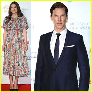 Benedict Cumberbatch & Keira Knightley Party Before the BAFTAs