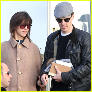 Benedict Cumberbatch & Sophie Hunter Step Out For First Time After Surprise Valentine's Day Wedding